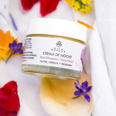 crema cosmética orgánica